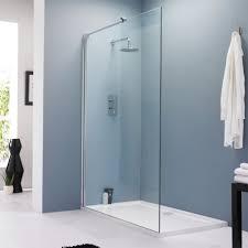 bath shower glass panels nujits com glass panel for bathroom