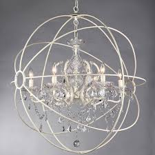 Shabby Chic White Chandelier Shabby Chic Light Fixture Light Fixtures
