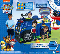 nickelodeon paw patrol play tent chase u0027s police cruiser toys