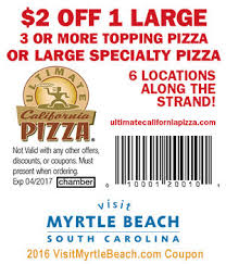 California Pizza Kitchen Coupon Code by Ultimate California Pizza 5 Off 25