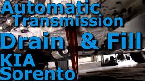 automatic transmission fluid atf drain u0026 fill complete hd kia