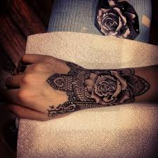 rose henna tattoo on wrist in 2017 real photo pictures images