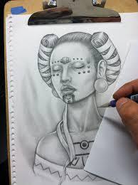 mike moya tattoos mayan princess by mikemoyatattoos on deviantart