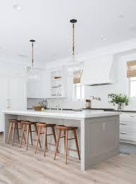 light grey kitchen with oak cabinets 14 grey kitchen ideas best gray kitchen designs and