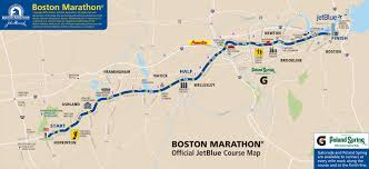 Nyc Marathon Route Map How And Where The Manhunt For The Boston Marathon Bombing Suspects