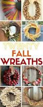 best 25 easy fall wreaths ideas on pinterest diy fall wreath