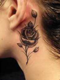 61 small rose tattoos designs for men and women piercings models