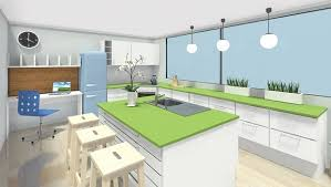Design Your Kitchen Plan Your Kitchen With Roomsketcher Roomsketcher