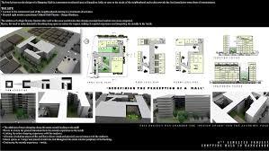 modern style architecture design portfolio with architectural