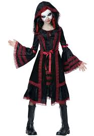 kids gothic doll costume halloween costumes for girls escapade uk