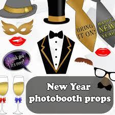 new year photo booth props u2013 diy digital creations