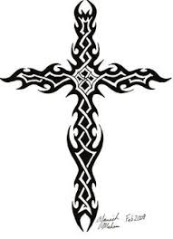 cool tribal cross tattoos tcmulkk halloween pinterest tribal