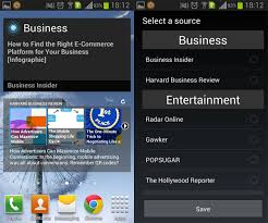 news widgets for android pulse news news widget for android