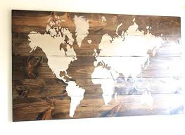 wall art designs wall art map of the world decor poster large