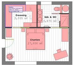 plan chambre 12m2 dressing dans chambre 12m2 0 suite parentale 12m2 chaios dressing