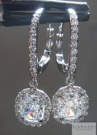 dangling diamond earrings colorless diamond earrings diamond dangle earrings diamond