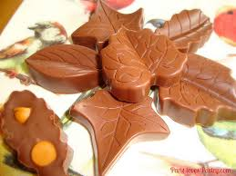 paris pastry molding chocolate butterscotch filled fall chocolates