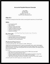 Accounts Payable Resume Samples by Create My Resume Accounts Payable Clerk Resume Sample Cv Resume