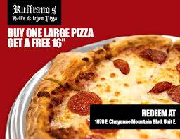 ruffrano u0027s hell u0027s kitchen pizza manitou springs colorado