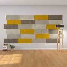 wohnraum wandgestaltung felty filz fliese zur wandgestaltung wohnraum modell lina größe l
