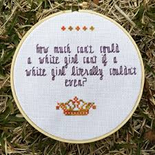 50 cross stitch patterns to show your personality