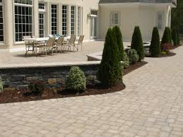 Patio Concrete Pavers by Interlocking Concrete Pavers Brick America
