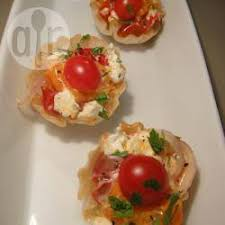 cuisine canapé roasted cherry tomatoes and goats cheese canapes recipe all