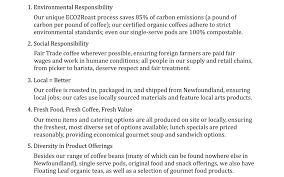 Catering Job Description For Resume by Td Place Jumping Bean Coffee