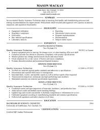 Best It Resume Format Resume Format For Quality Assurance It Resume Cover Letter Sample