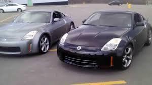 nissan 350z horsepower 2004 2003 nissan 350z touring and 2006 nissan 350z base youtube