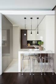 White Small Kitchen Designs Unique Styles For Minimalist Small Kitchen Design In Contemporary