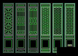 classical door cad block 2 free autocad drawing cad blocks cad
