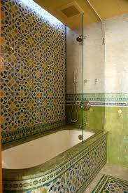 moroccan bathrooms mediterranean bathroom new york by lo chen
