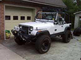 modified jeep wrangler yj whiteyj 1993 jeep yj specs photos modification info at cardomain