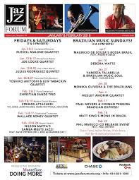 forum cuisine az jazz forum arts preview of coming attractions at the