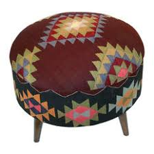 kilim ottomans and footstools houzz