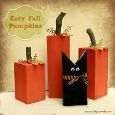 Halloween Pumpkin Crafts Fun Fall Pumpkins And A Sweet Black Cat Easy Diy By Crafty In