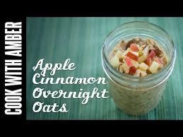 easy thanksgiving morning breakfast apple cinnamon overnight