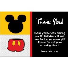 mickey mouse thank you cards barnyard farm animals thank you card personalized party invites