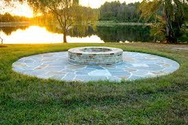 Dry Laid Flagstone Patio Patios Sitting Areas Stone Patios Outdoor Sitting Areas Tampa Fl