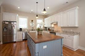 Wood Tops For Kitchen Islands Gorgeous Contrasting Kitchen Island Ideas Pictures Designing Idea