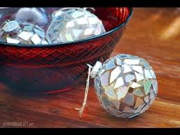 diy make ornaments from broken cds