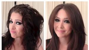 straight wiry hair hair cuts silky smooth blowout blowdry tutorial for coarse frizzy curly