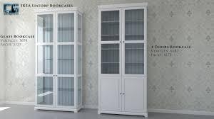 Liatorp Libreria by Glass Door Bookcase Ikea Latest L Shape White Ikea Bookshelves