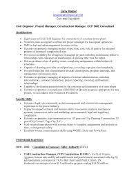 Construction Manager Sample Resume by Mechanical Project Manager Resume Sample Free Resume Example And