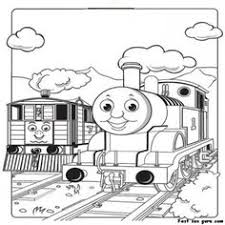 free printable coloring pages kids birthdays thomas