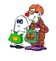 halloween clip art z31 coloring page