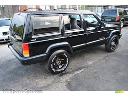 1998 jeep cherokee sport 4x4 in black photo 2 184619