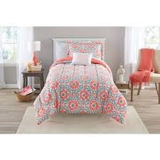 Echo Bedding Sets Attractive Coral Color Comforter Sets Bedroom Bedding With Set