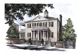 federal style home plans the josiah smith house hwbdo12787 adam federal from